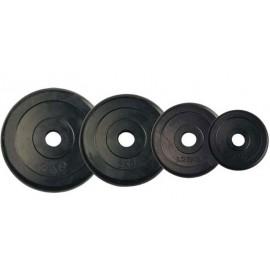 Δίσκοι μαντέμι με λαστιχένια επένδυση Amila (44437) 20 Kg