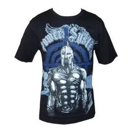 "T-shirt ""SPARTAN"" (μαύρο) POWER SYSTEM PS 5000B"