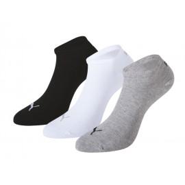 Κάλτσες Puma λευκή/γκρι/μαύρη Τριάδα