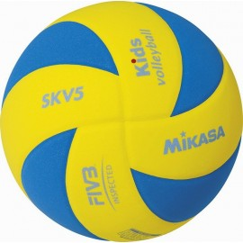 Παιδική μπάλα βόλεϊ Mikasa SKV5 YBL Kids (41830)