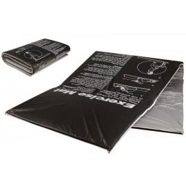 Ταπέτο Γυμναστικής Exercise Mat PVC Black 7640