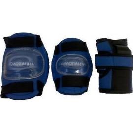 Παιδικό σετ από επιγονατίδες επιαγκωνίδες περικάρπια 3K (003.1047 blue)