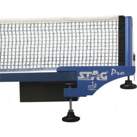 Δίχτυ πινγκ πονγκ με στηρίγματα STAG Pro (42771)