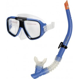 Σετ μάσκα & αναπνευστήρας θαλάσσης INTEX Reef Rider Swim Set (55948)