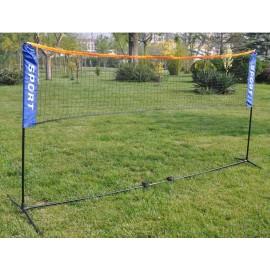 Σετ δίχτυ με στύλους badminton AMILA (42768)