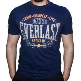 Ανδρικό αθλητικό μπλουζάκι Train από την Everlast Evr4669 Navy