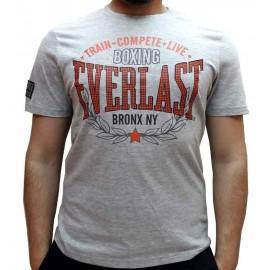 Ανδρικό αθλητικό μπλουζάκι Train από την Everlast Evr4669 Grey