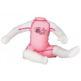 Κορμάκι κολύμβησης παιδικό (ροζ) Waimea® (55UA RWF)