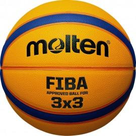 ΜΠΑΛΑ ΜΠΑΣΚΕΤ MOLTEN B33T5000 SYNTHETIC SIZE 6 FIBA APPROVED FOR 3x3