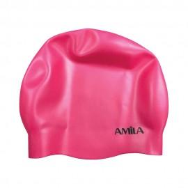 Σκουφάκι κολύμβησης πισίνας (μεσαία μαλλιά) (47022)