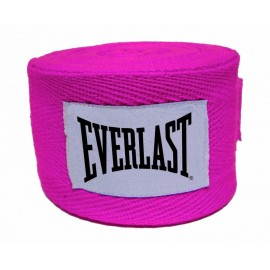 Μπαντάζ EVERLAST COTTON HAND WRAPS 275cm - Pink