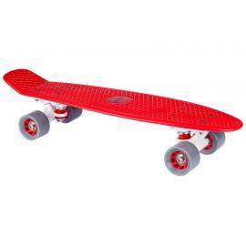 "Skateboard Plastic (22.5"") Κόκκινο Nijdam (52NR RGW)"