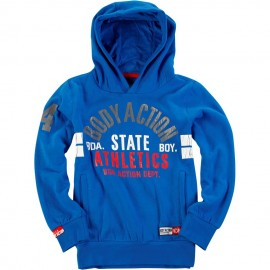 Παιδικό φούτερ Body Action BOYS BASIC HOODIE (064701 ROYAL 04G)